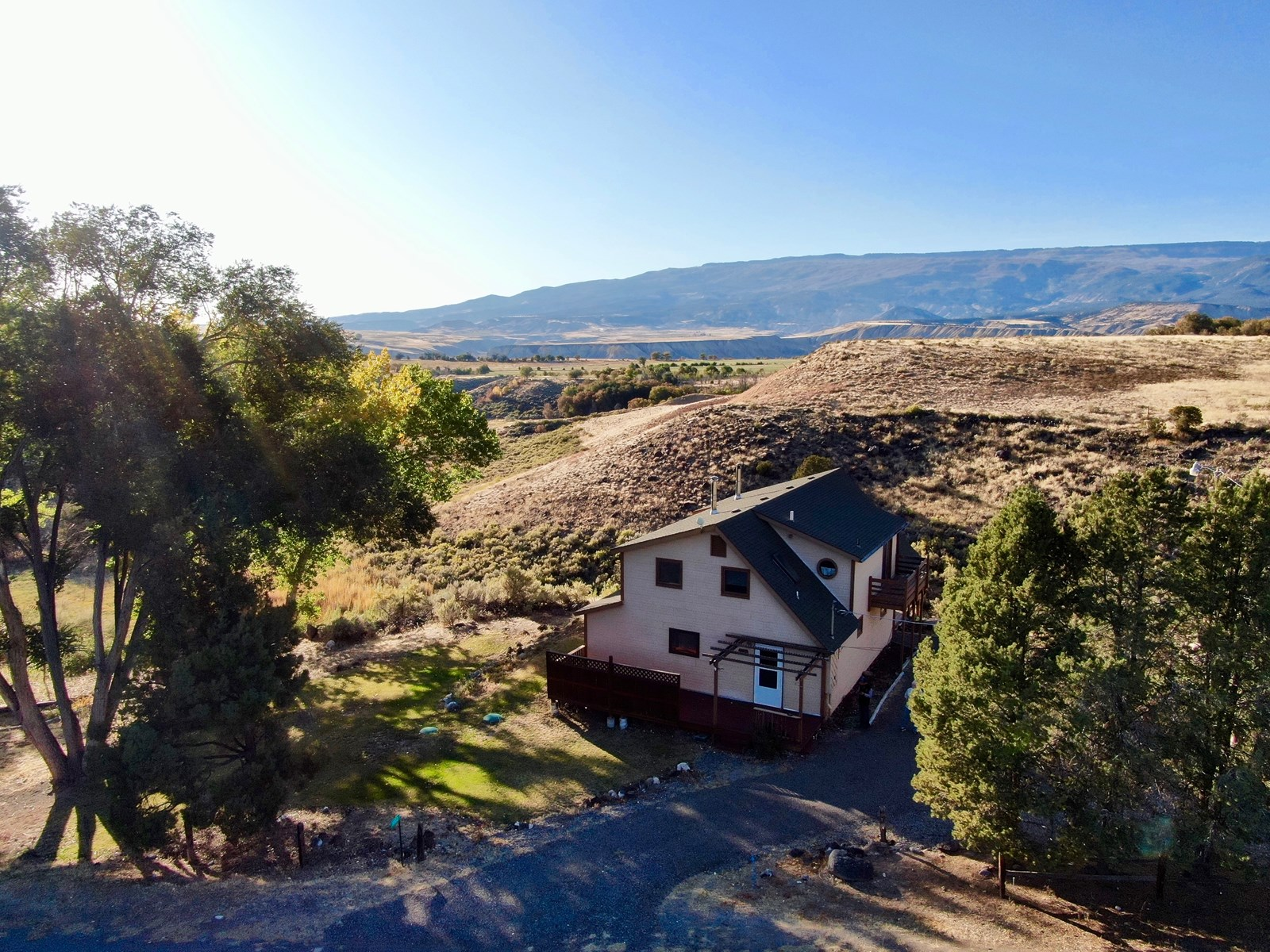 Colorado Country Home with Views of Grand Mesa For Sale