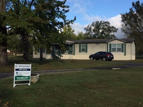 Home in Town for Sale Clayton,OK- Modular Home w/Shop