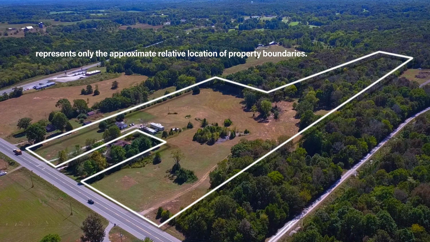 Prime Commercial Acreage in Chapel Hill TN