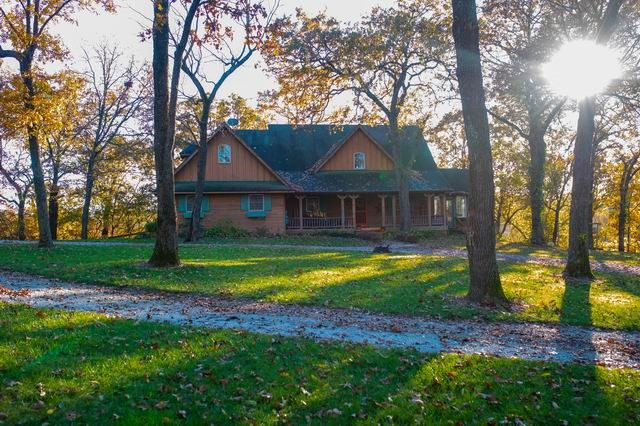 Stunning Country Home with 5 Beautiful Acres on Walnut Hill