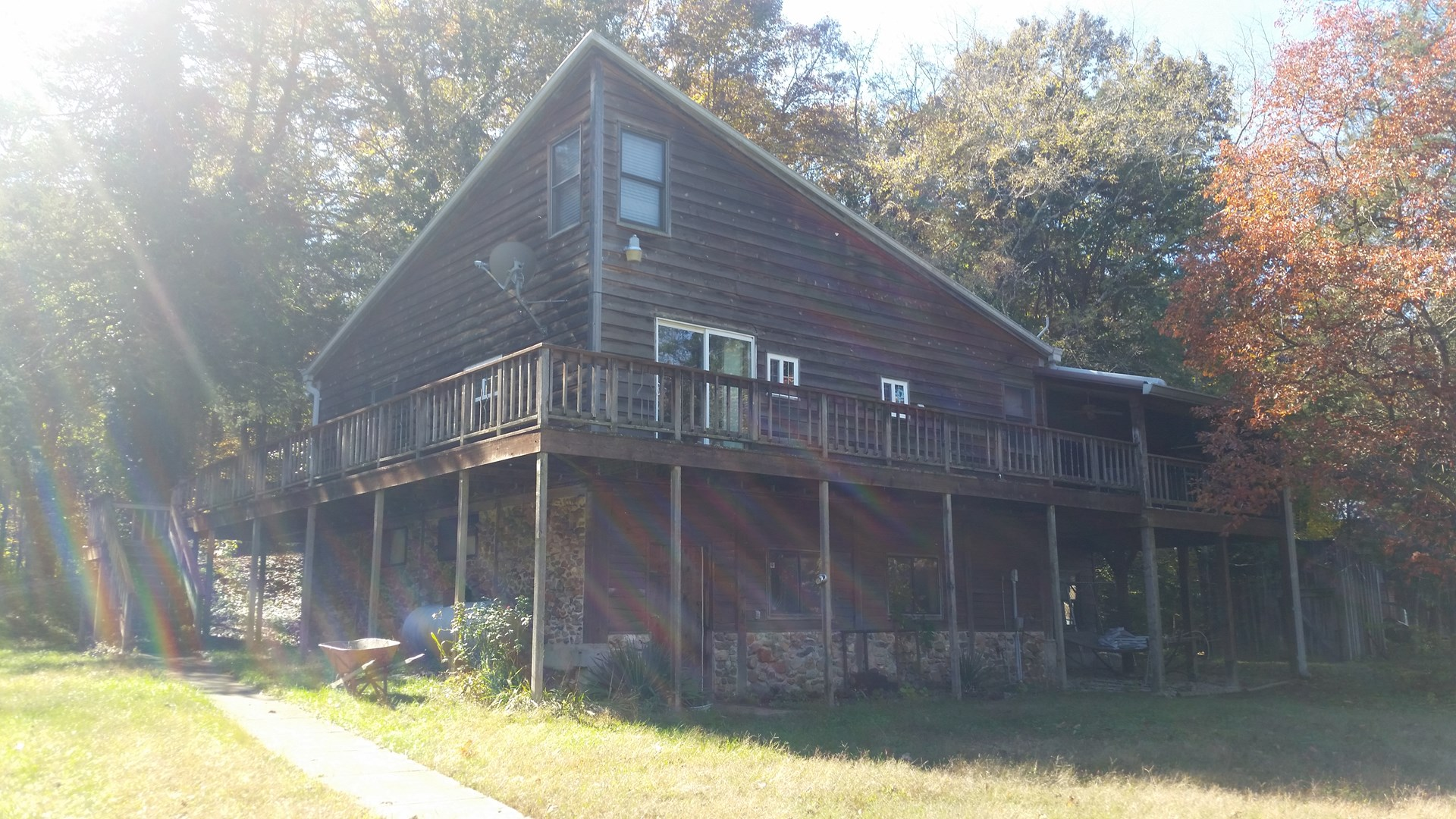 For Sale: Lesterville Dream house w/ access to 5 ac of river
