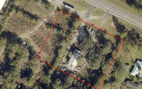 2.5 Acres of commercial intensive zoned property.