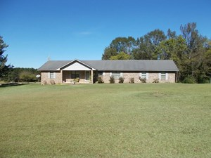 TWO HOUSES AND 97 ACRES FOR SALE COPIAH COUNTY MISSISSIPPI