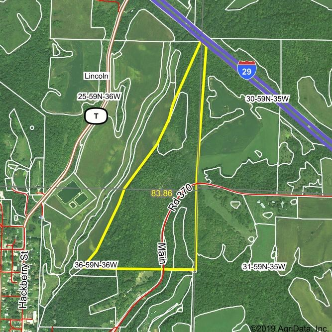 76+/- Ac in Andrew Co, Timber Bluff, Building Possibility
