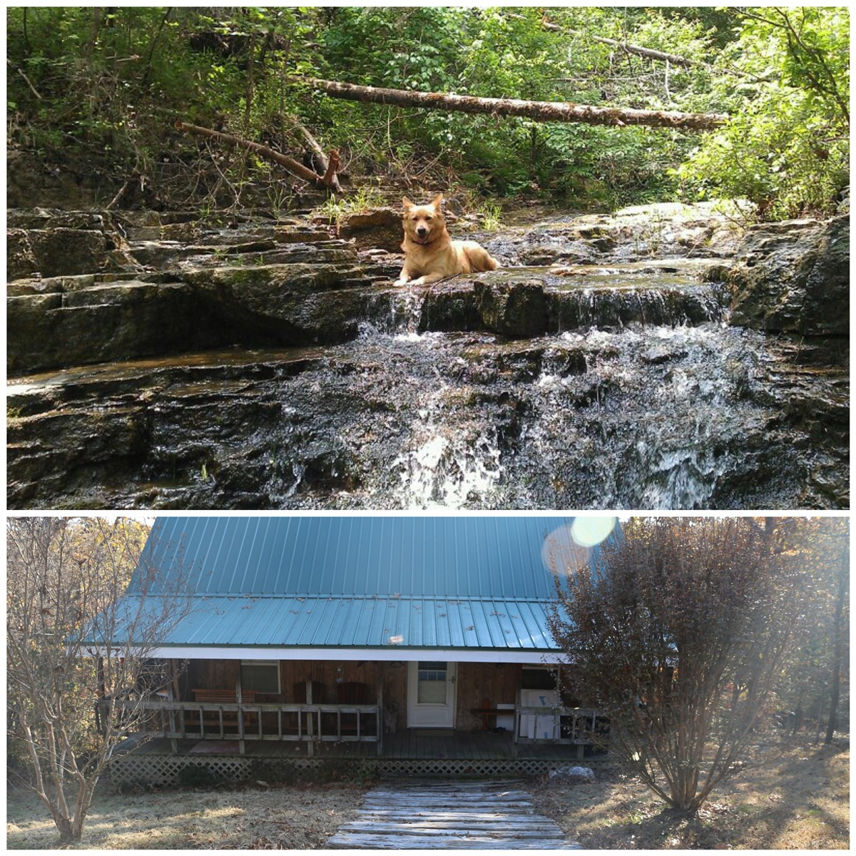 Ozarks Mountain Cabin Near North Fork River Missouri