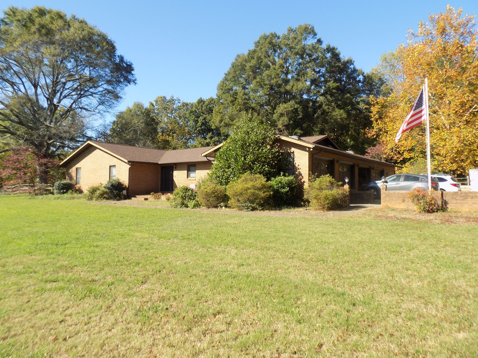 All Brick Home With Acreage For Sale in Mint Hill NC