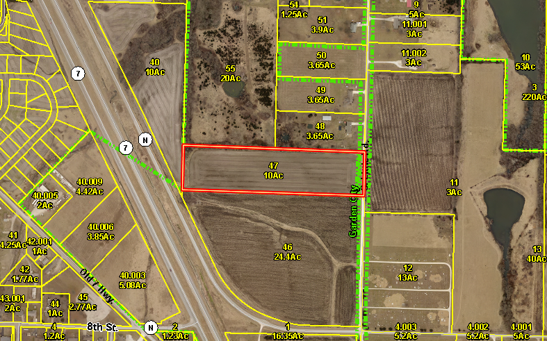 BUILD YOUR DREAM HOME ON 10+/- ACRES IN GARDEN CITY, MO
