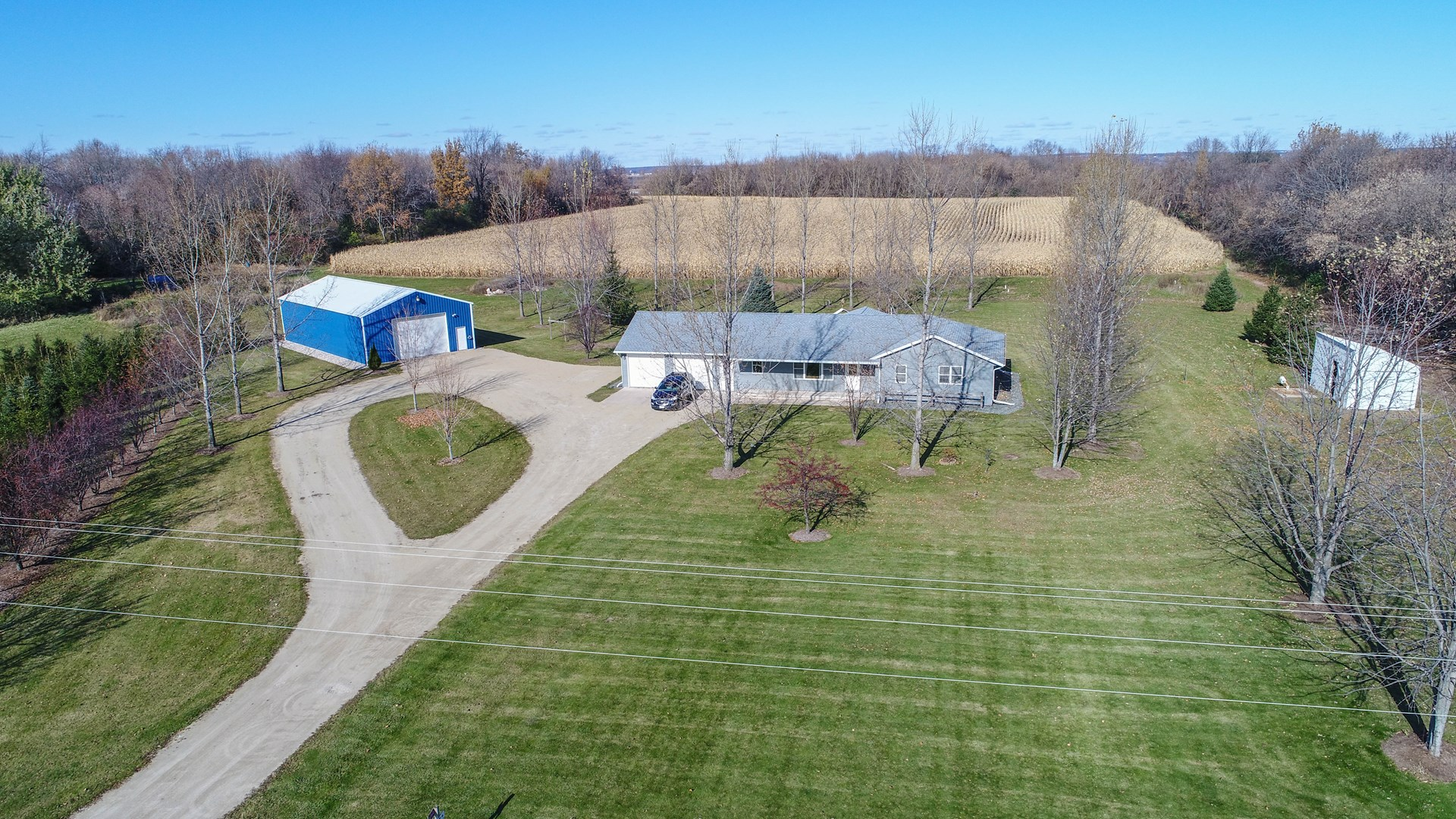 Country Home for sale in Manawa, WI