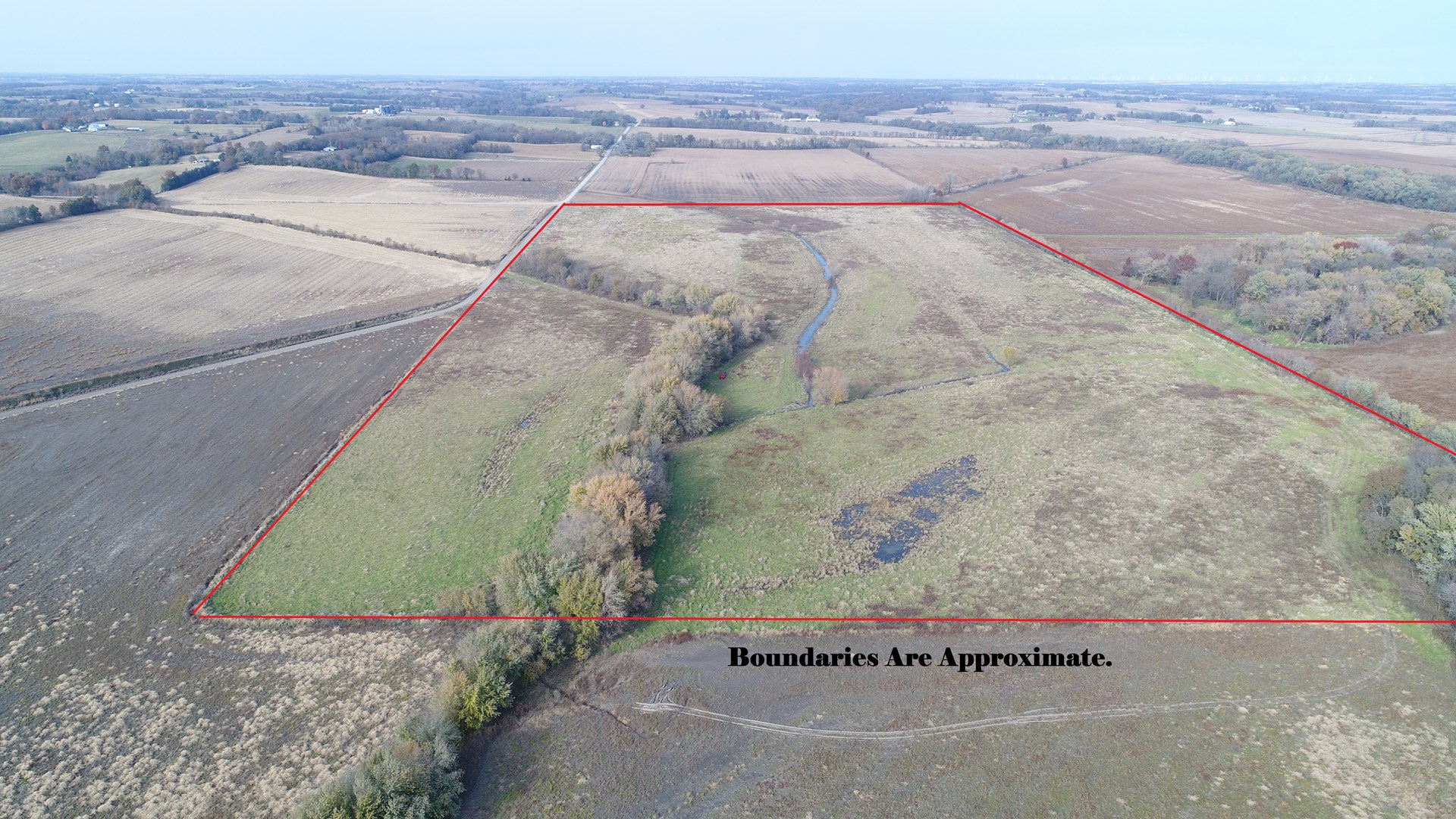75+/- Ac Buchanan Co Platte River Bottom Land