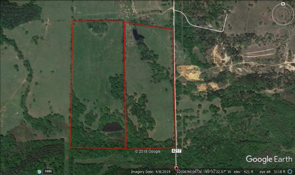 PRIZE RURAL ACREAGE WITH POND FOR SALE IN EAST TX