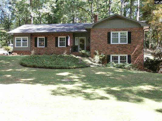 Brick Home Located Just Outside of Historic Winnsboro, SC
