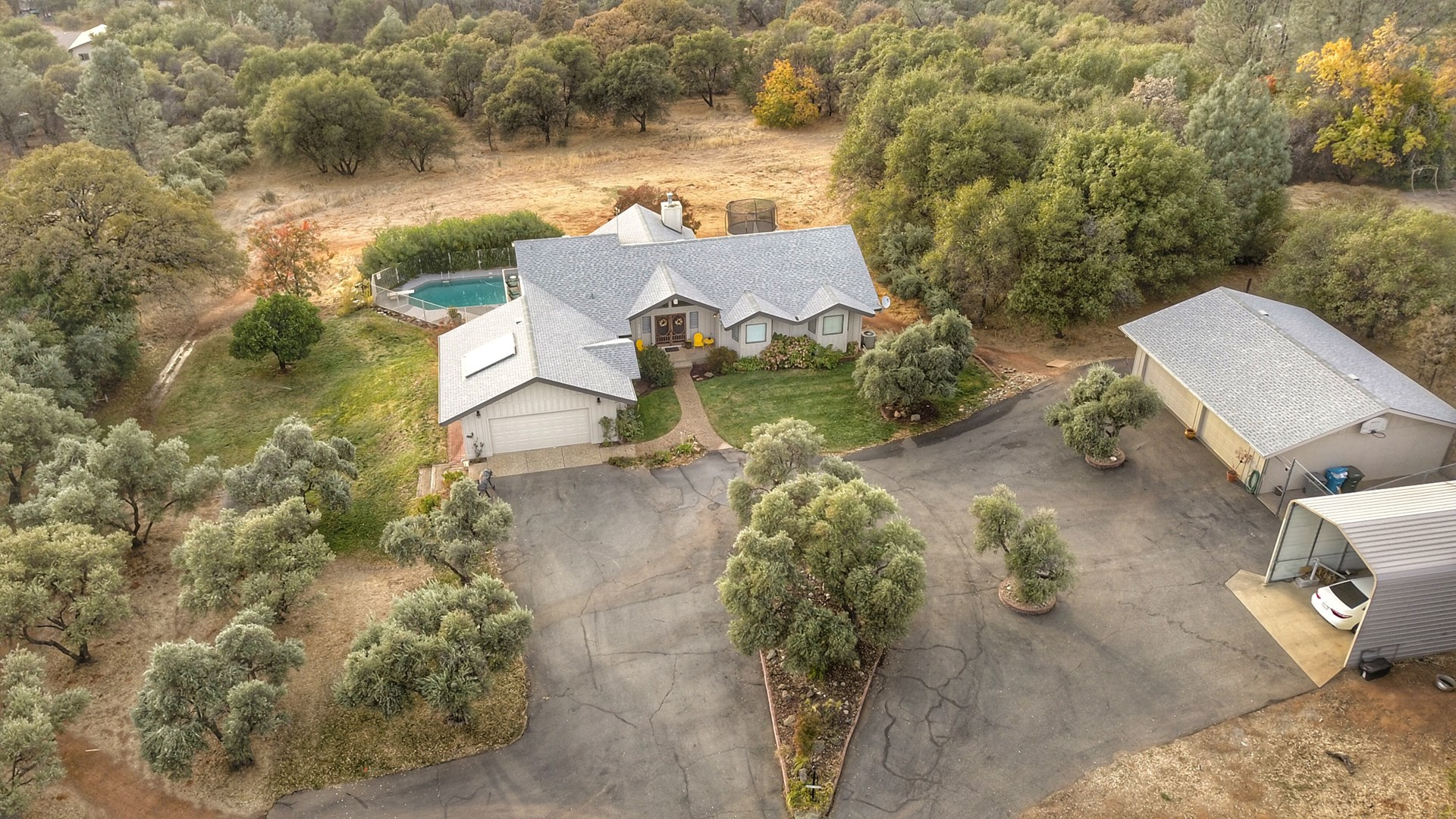 Luxury Lake Oroville Foothills Country Home For Sale