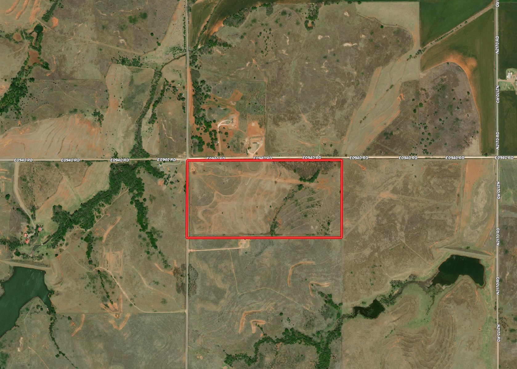Hunting and Ranch Land for Sale Custer County OK