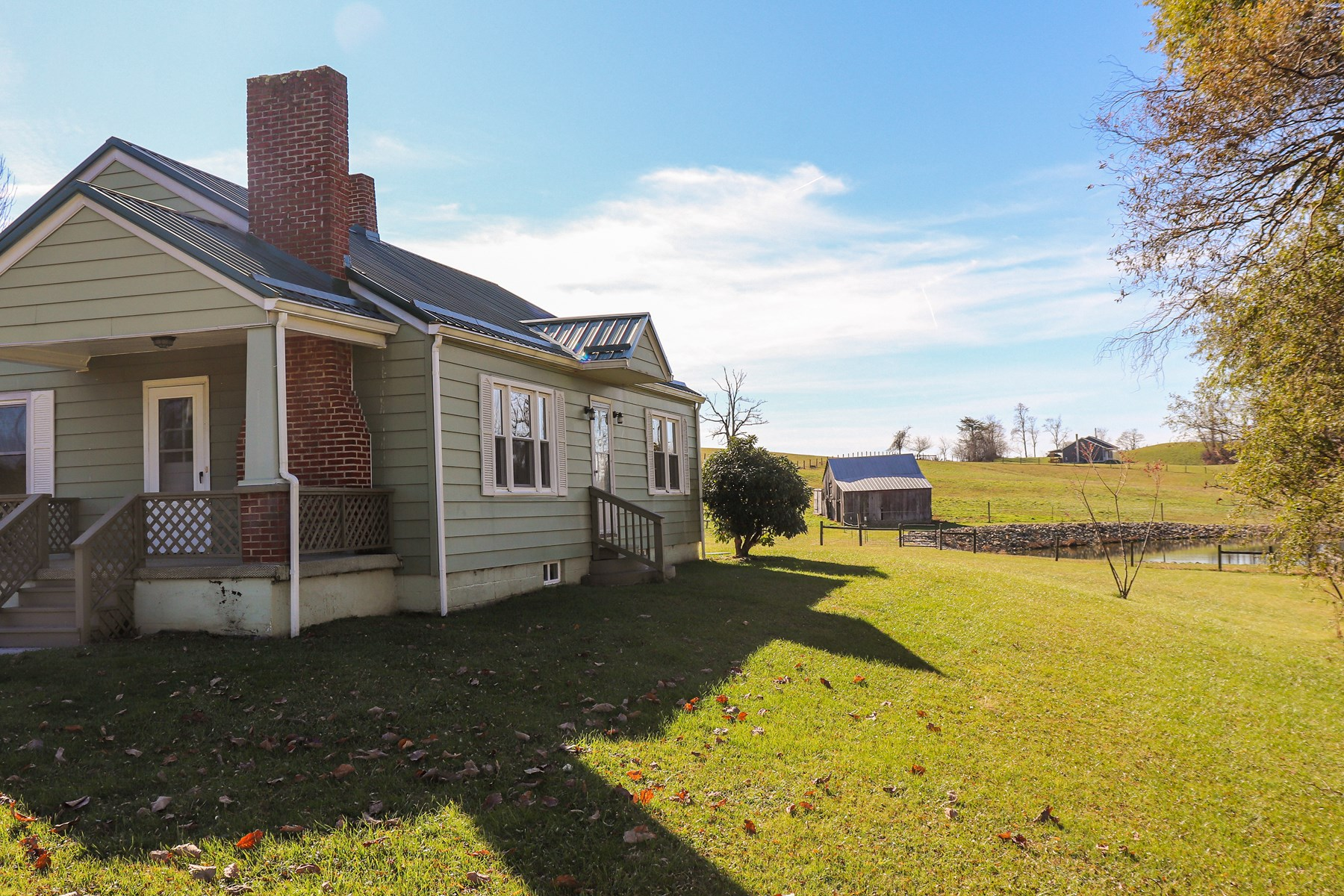 Country Home with Open Pastureland for Sale in Copper Hill!