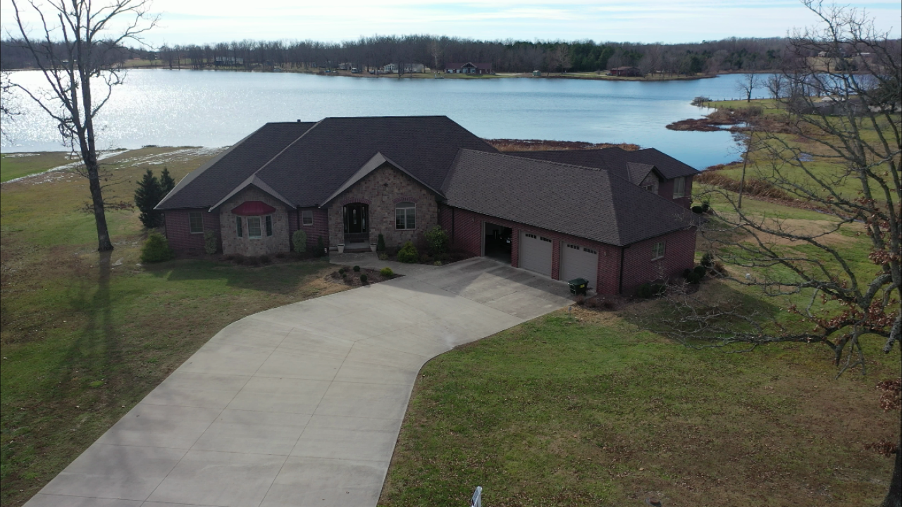 Contemporary Custom Brick Home Arrowhead Lake West Plains MO