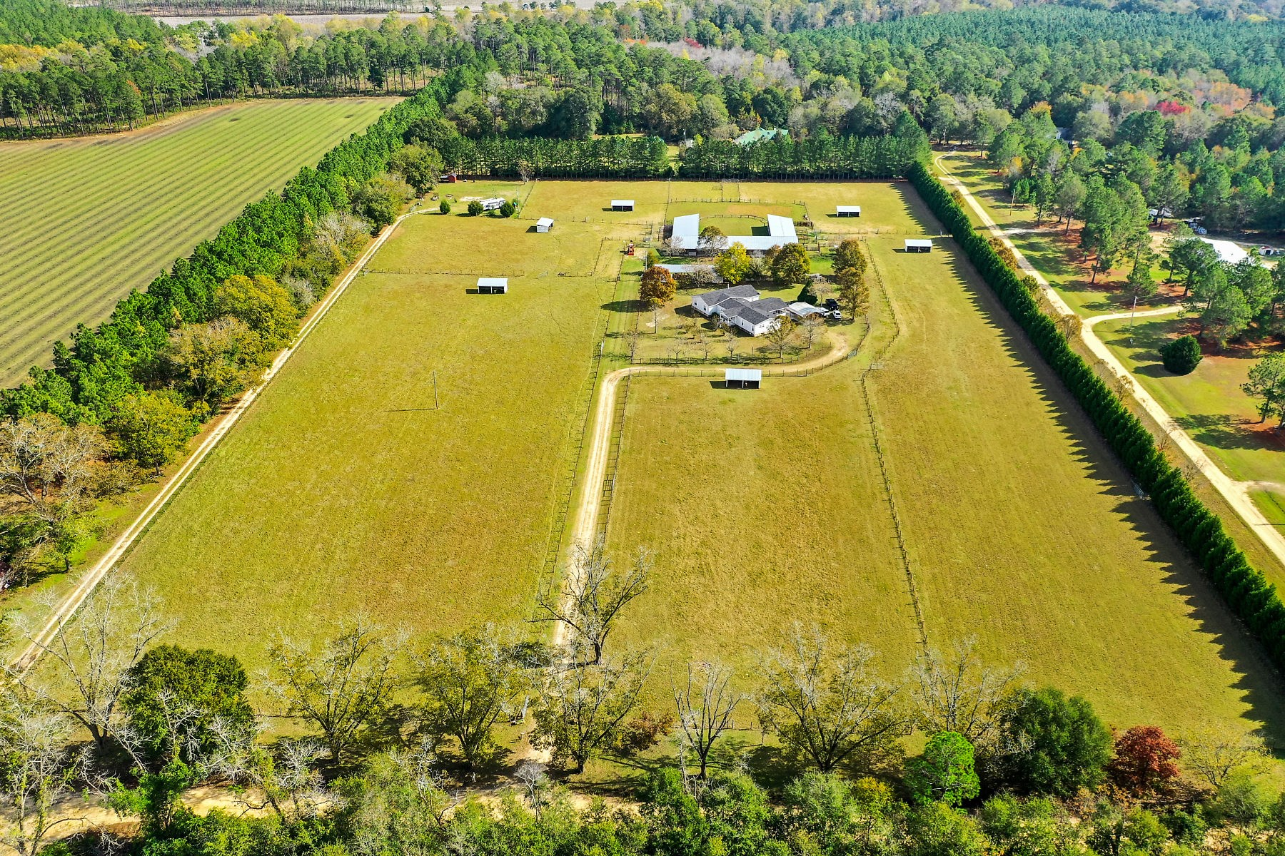 Country Home with Equestrian Facility in Statesboro, GA