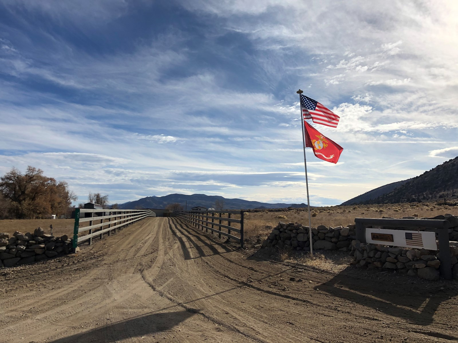 Horse Ranch with Water Rights For Sale in Western Nevada