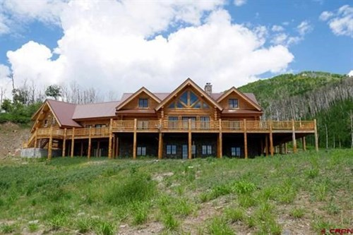 Secluded Luxury Log Home For Sale, Cedaredge, Colorado