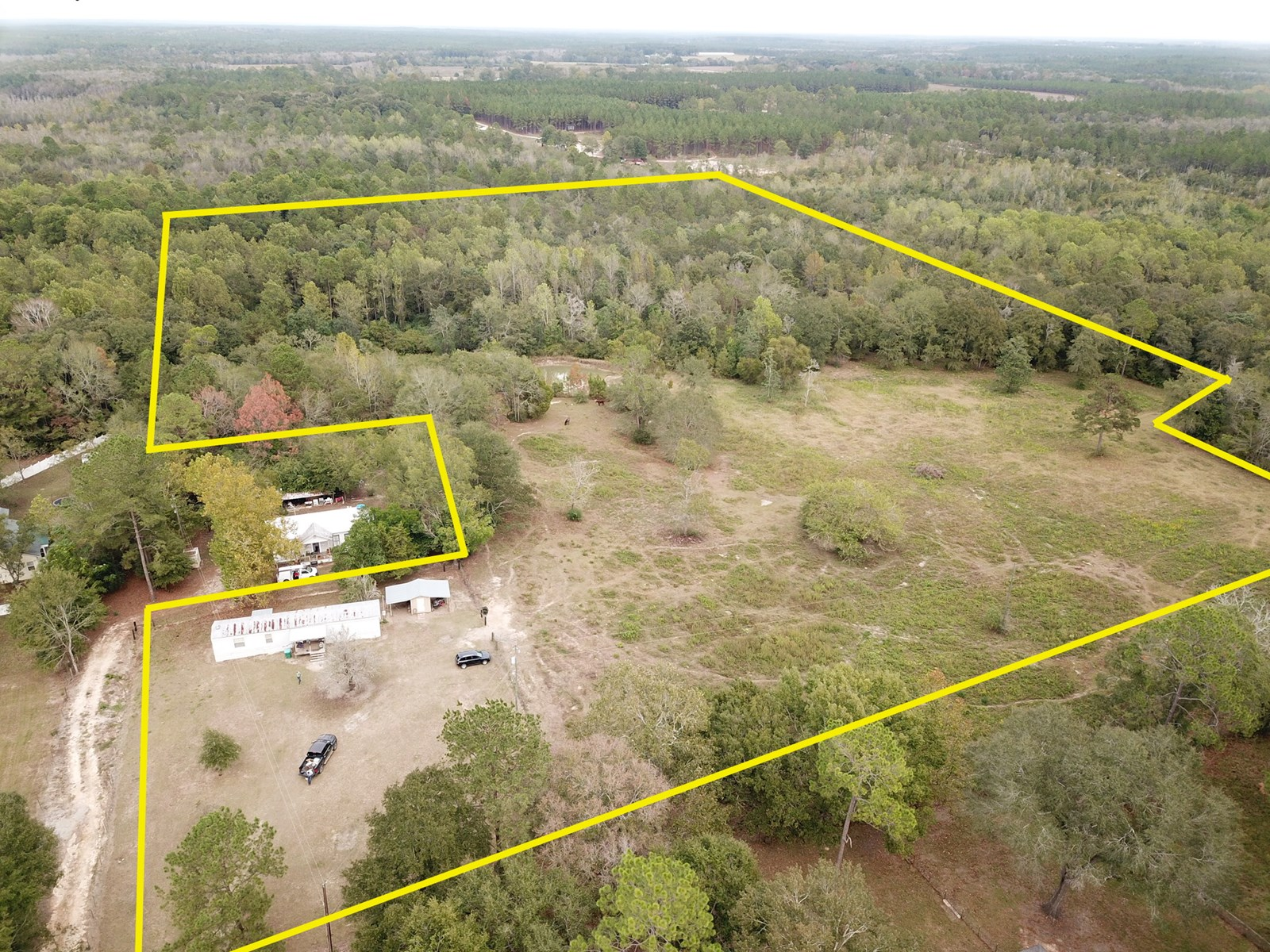 31.1 Acres w mobile home for sale in Florala, AL