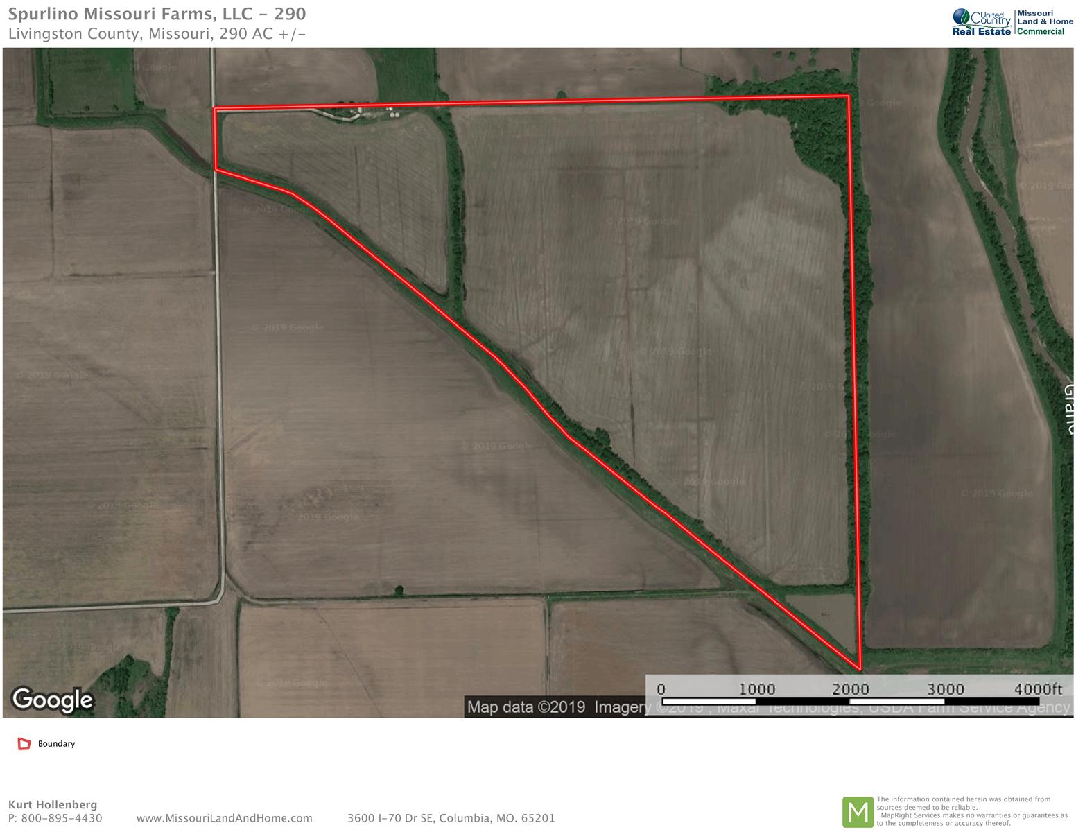 Investment Grade Tillable Row Crop Farm Livingston Co MO