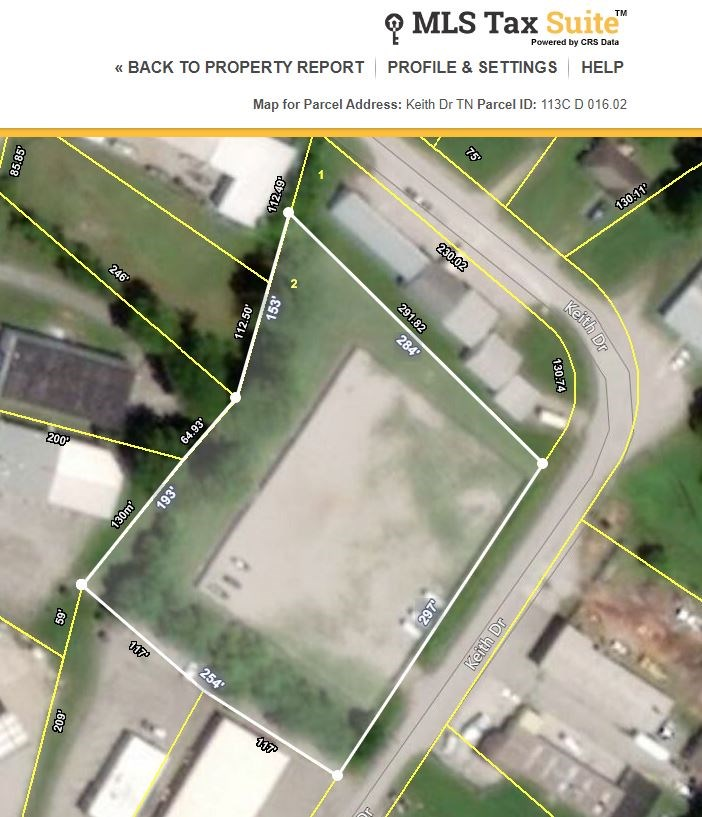 Commercial Lot in Columbia, Maury County Tennessee for Sale