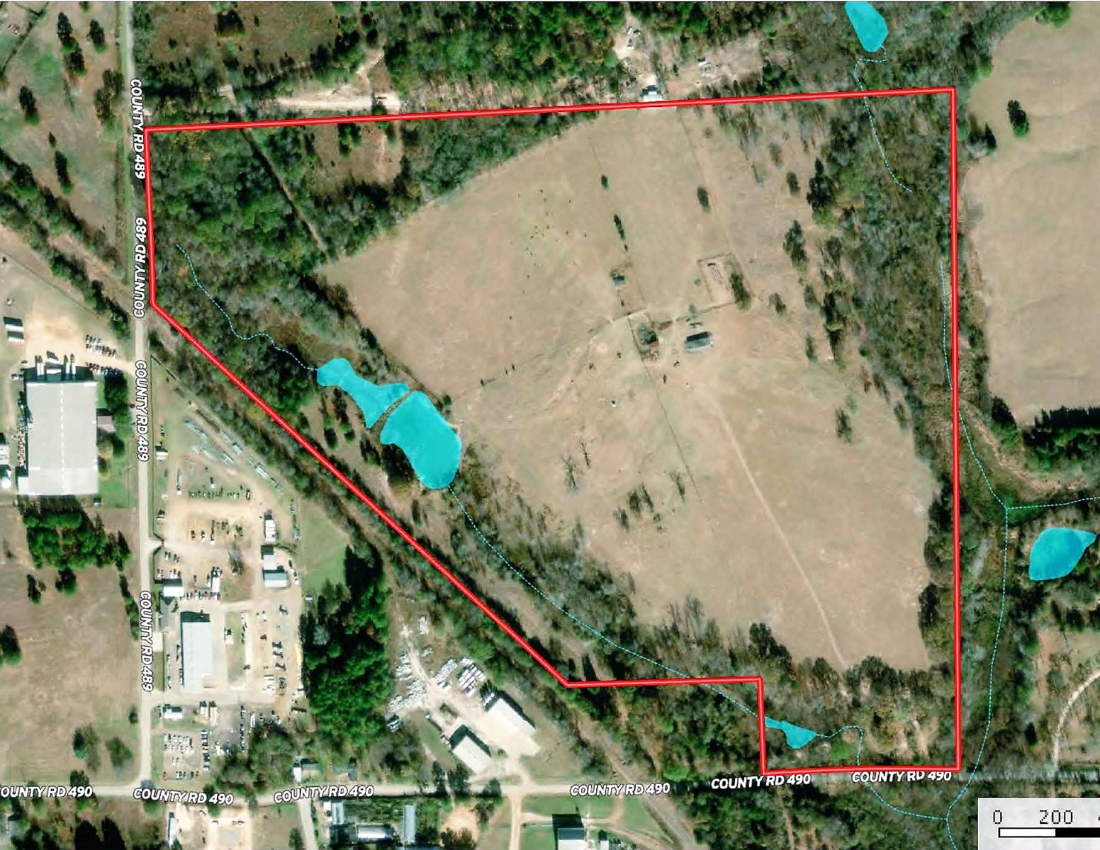 Recreational Farm Land for Sale Near Tyler & Lindale Texas