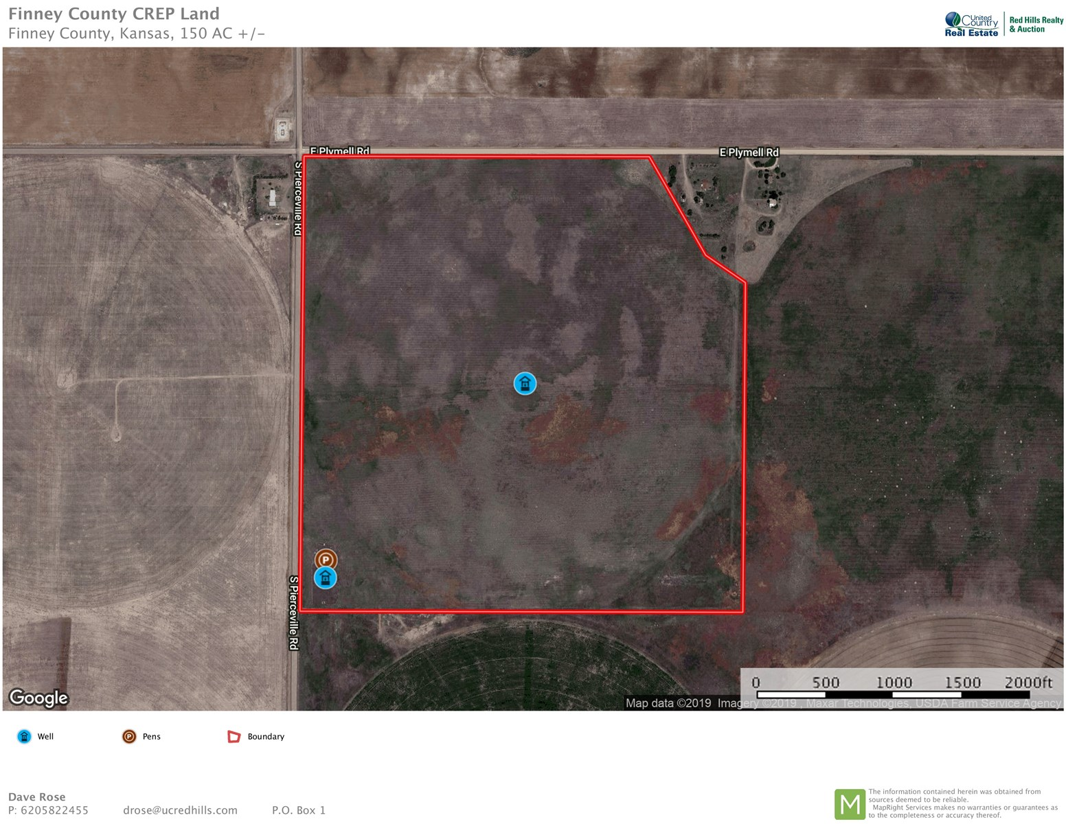 150 Acres of CREP, Hunting, Pasture, Crop Land in Kansas