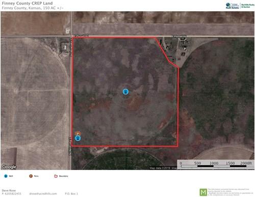 150 Acres of CREP, Hunting, Pasture, Crop Land in Kansas