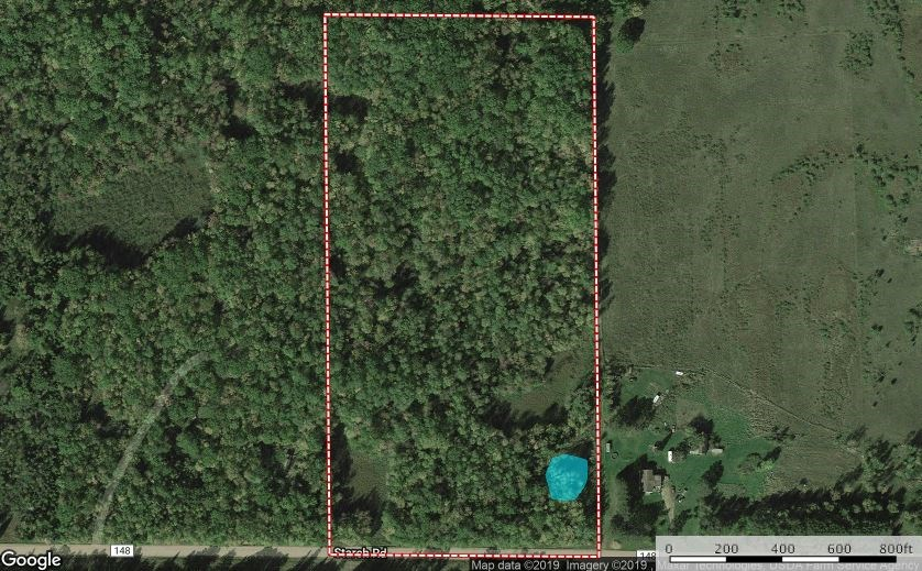Wooded Hunting Acreage for Sale, Northern Pine County, MN