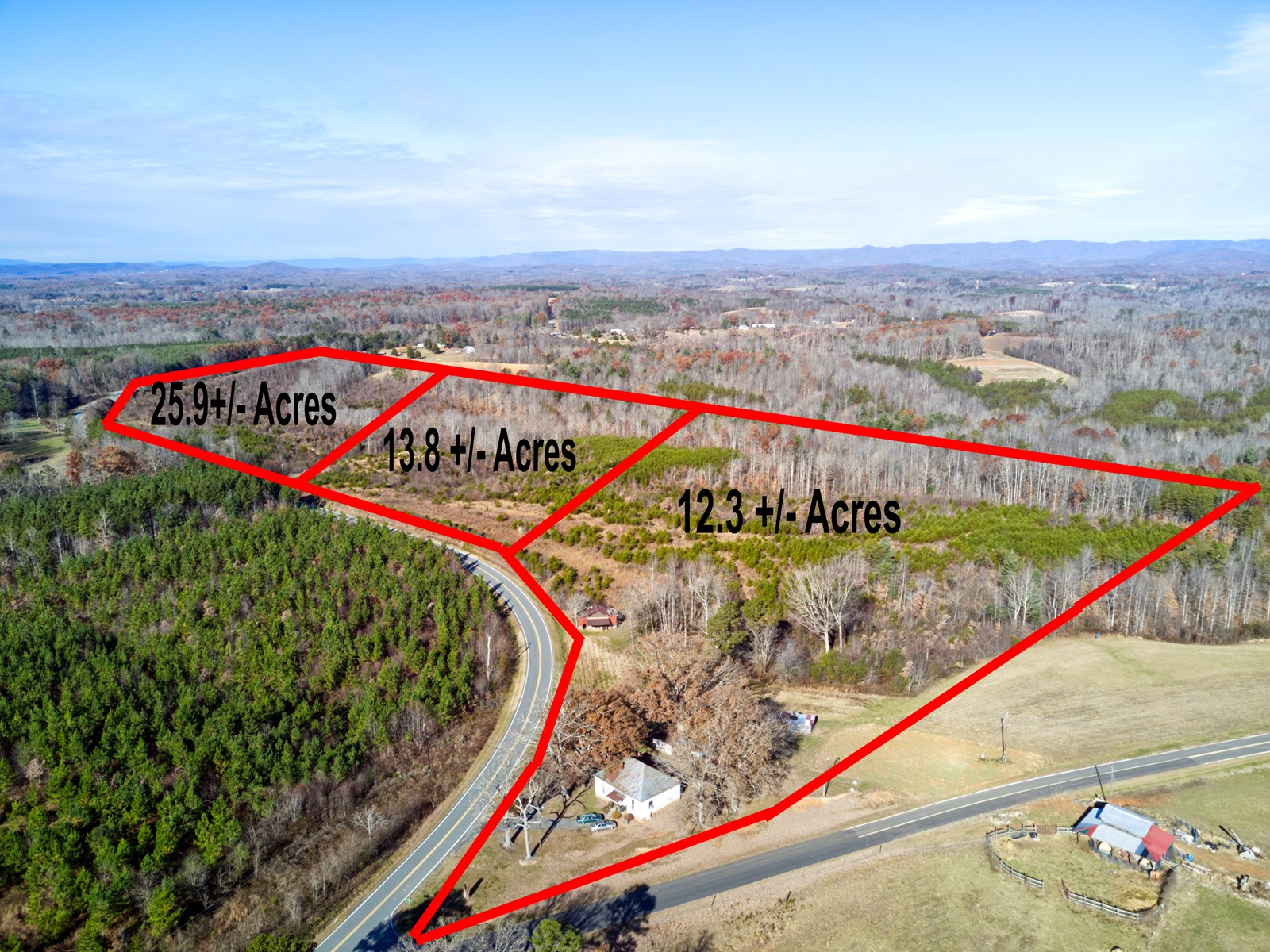 Land for sale in Westfield NC