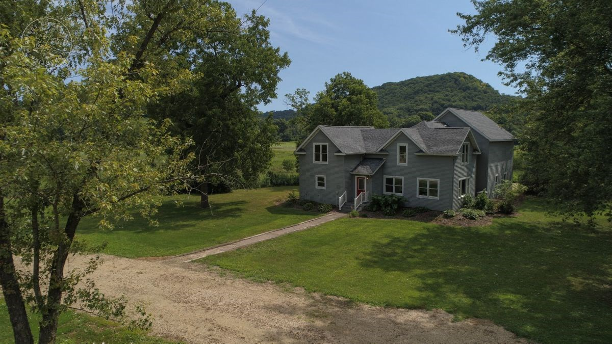 Remodeled Farmhouse with Trout Stream and Organic Tillable