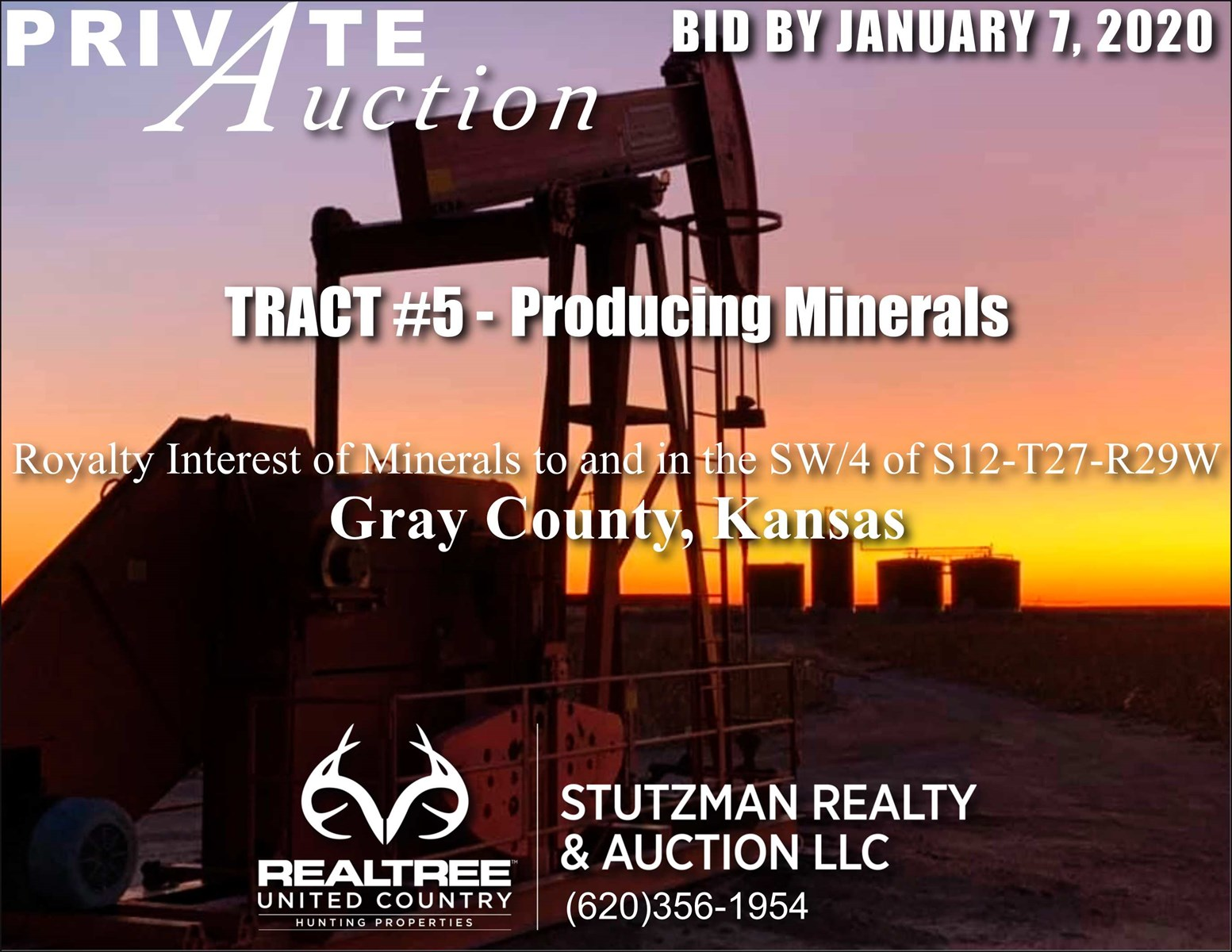 GRAY COUNTY KS  PRODUCING MINERALS - TR #5