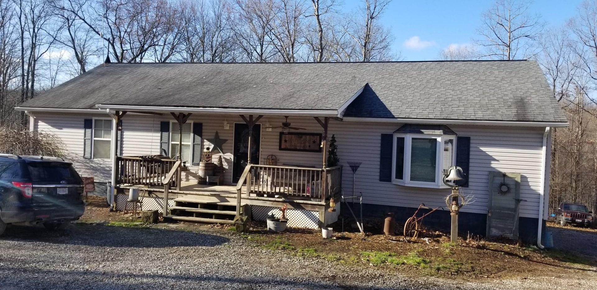 Monroe County, OH Ranch home on full basement