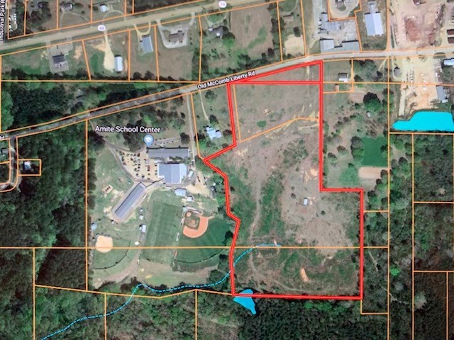 25.8 Acres Amite County MS Zoned Commercial and Residential