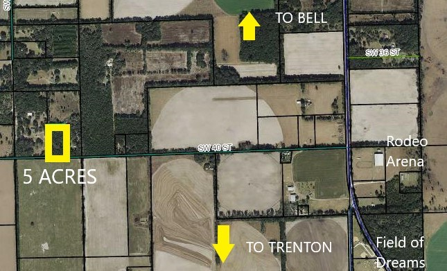 LAND FOR SALE, BELL TRENTON GILCHRIST COUNTY FLORIDA