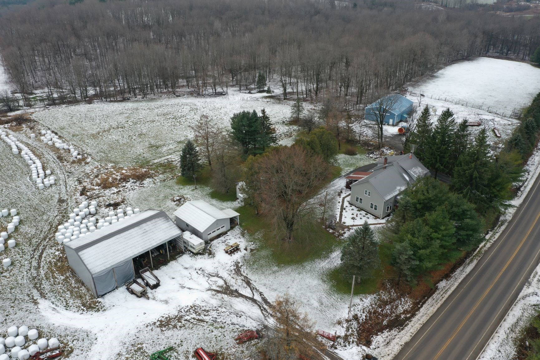 Productive Cattle Farm & Hunting Land For Sale in Central NY
