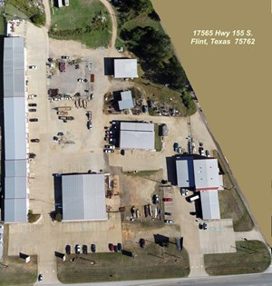 LANDMARK BUSINESS PARK FOR SALE FLINT TEXAS HWY 155 FRONTAGE