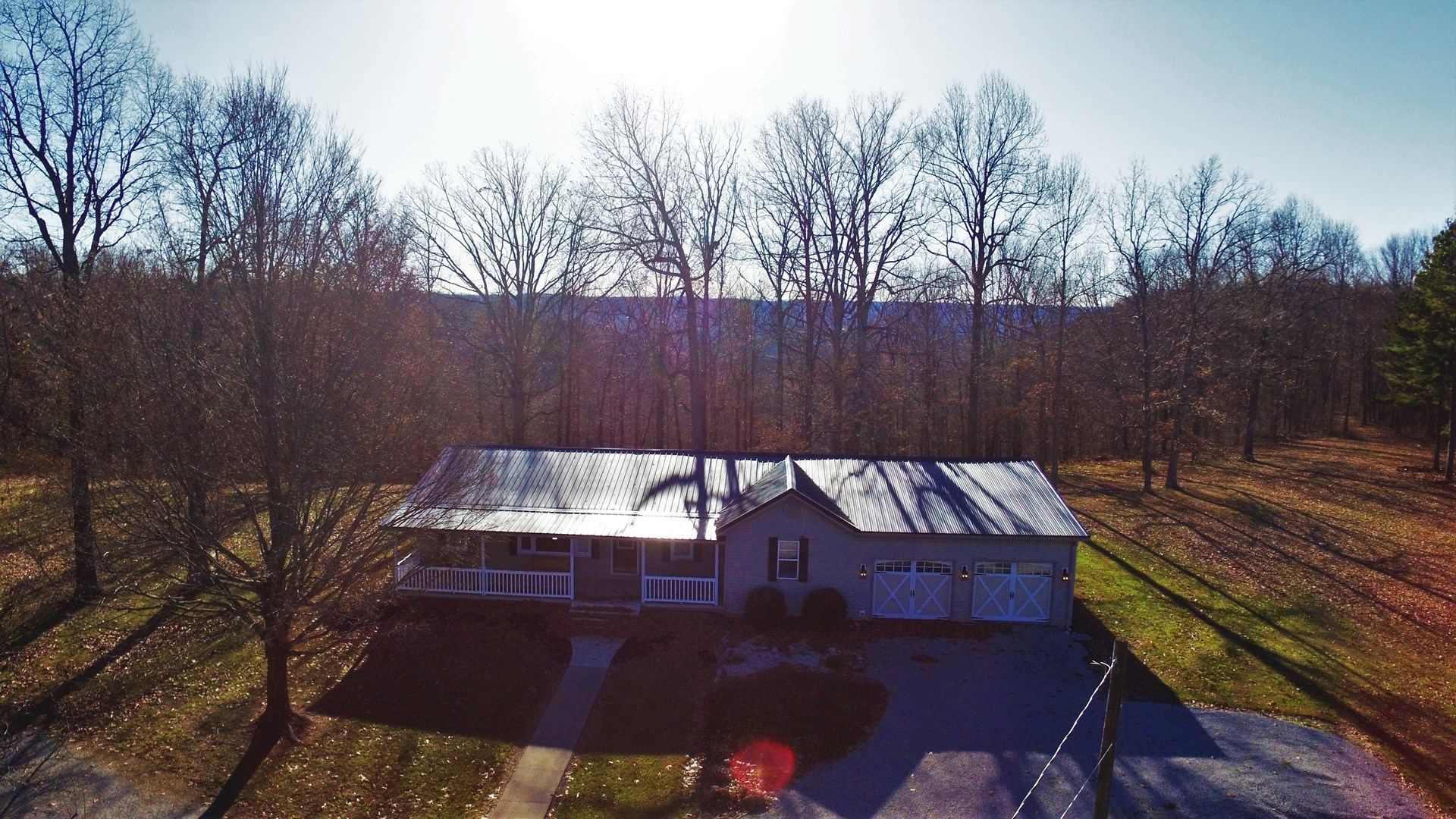REMODELED RANCH ON 124 ACRES HUNTING LAND-HUSTONVILLE, KY.