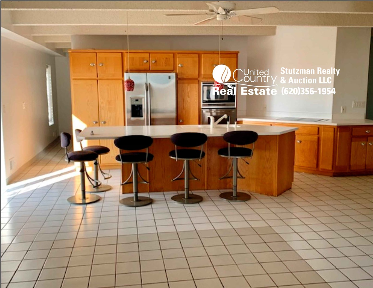COUNTRY HOME ON SIX ACRES IN STANTON CO., KANSAS