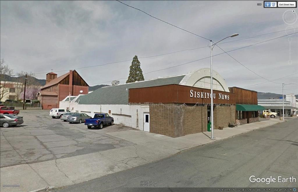 Commercial Space in Yreka, CA