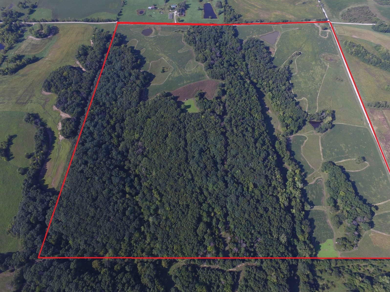 A Hunter's Paradise 160 Acres M/L For Sale Carroll County MO