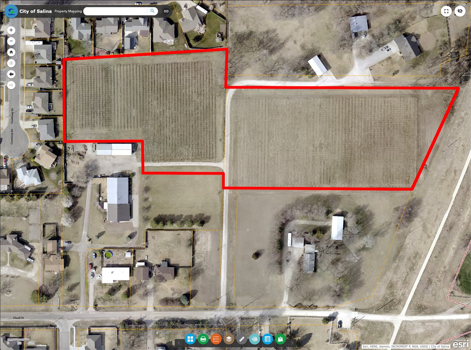 Salina Kansas Vineyard Agricultural Land For Sale Auction