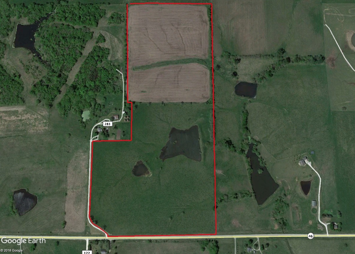 Worth County Missouri Pasture and Crop Land for Sale