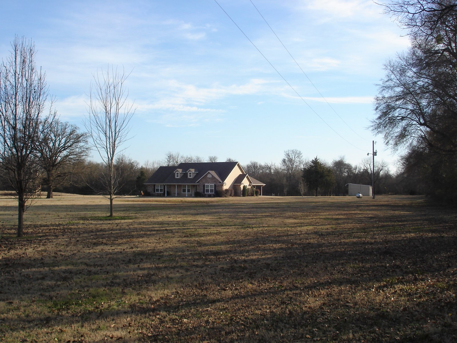 Country Home With Land For Sale Blossom Texas Lamar County