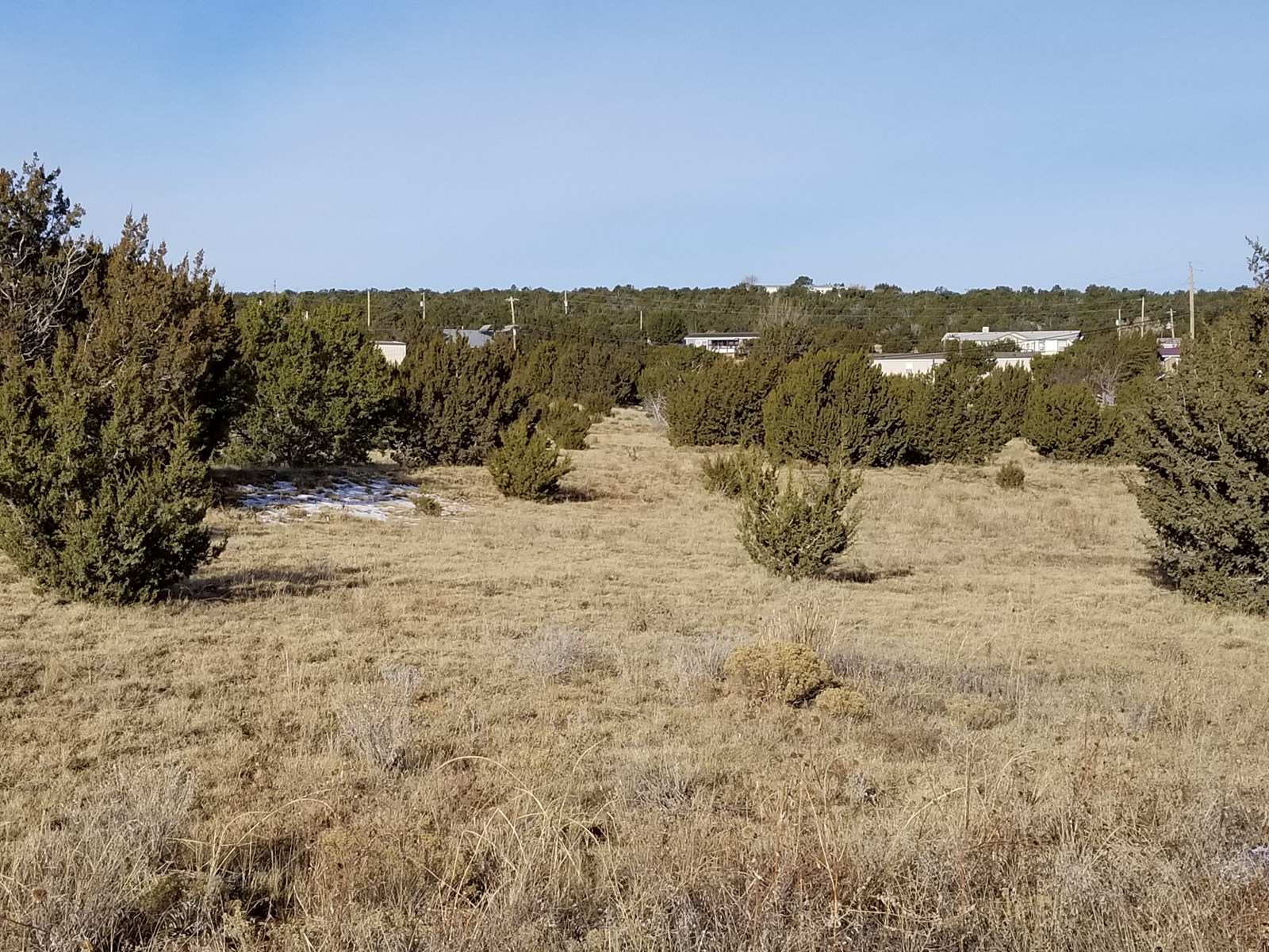 For Sale Residential 2.5 acre lot in Edgewood NM.