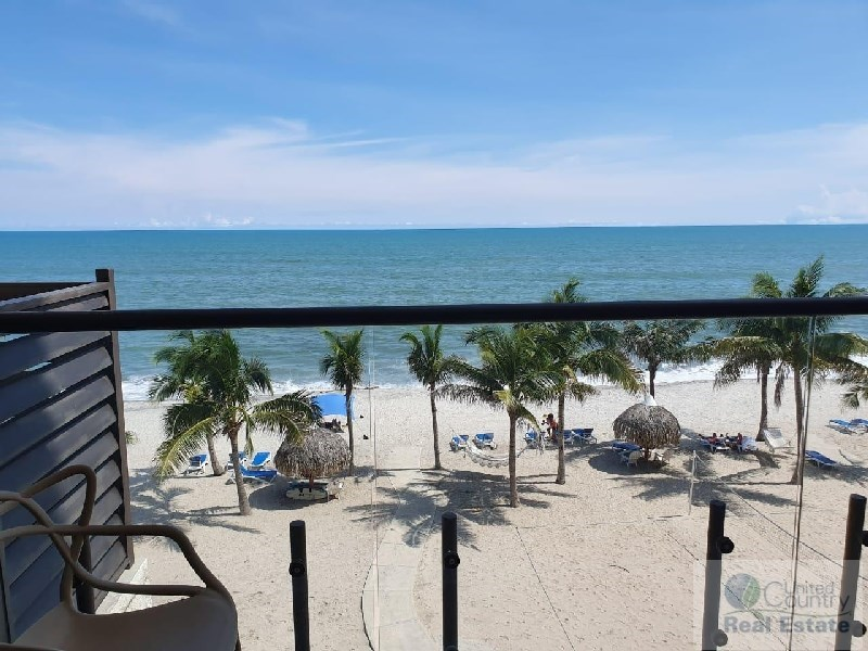 Beach front condo Panama Coastal Real Estate