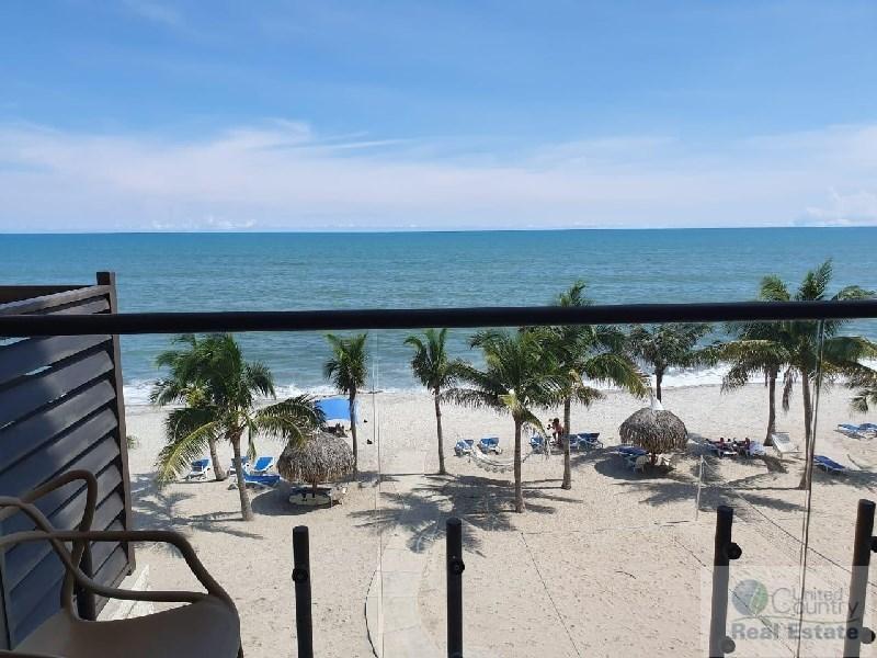 Beach front condo Panama Coastal Real Estate