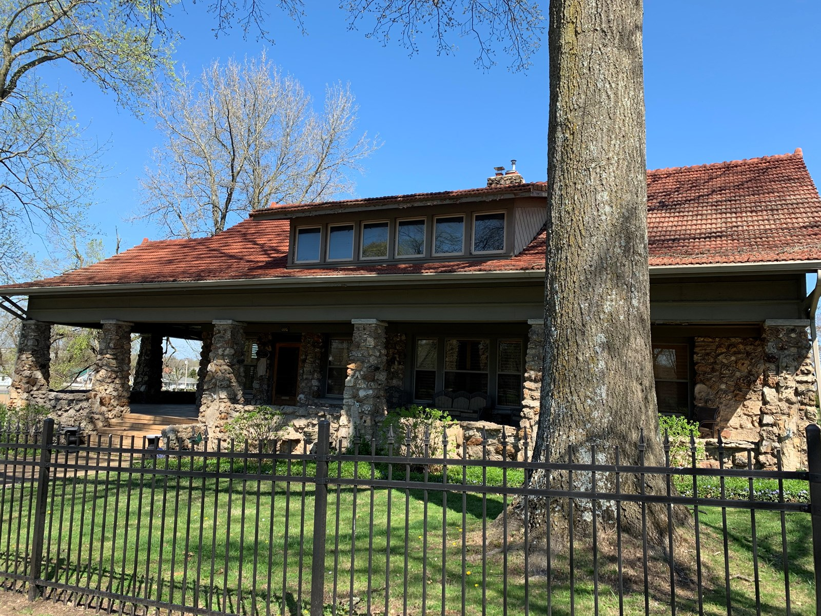 Historic Native Stone Bungalow For Sale in Southern Missouri