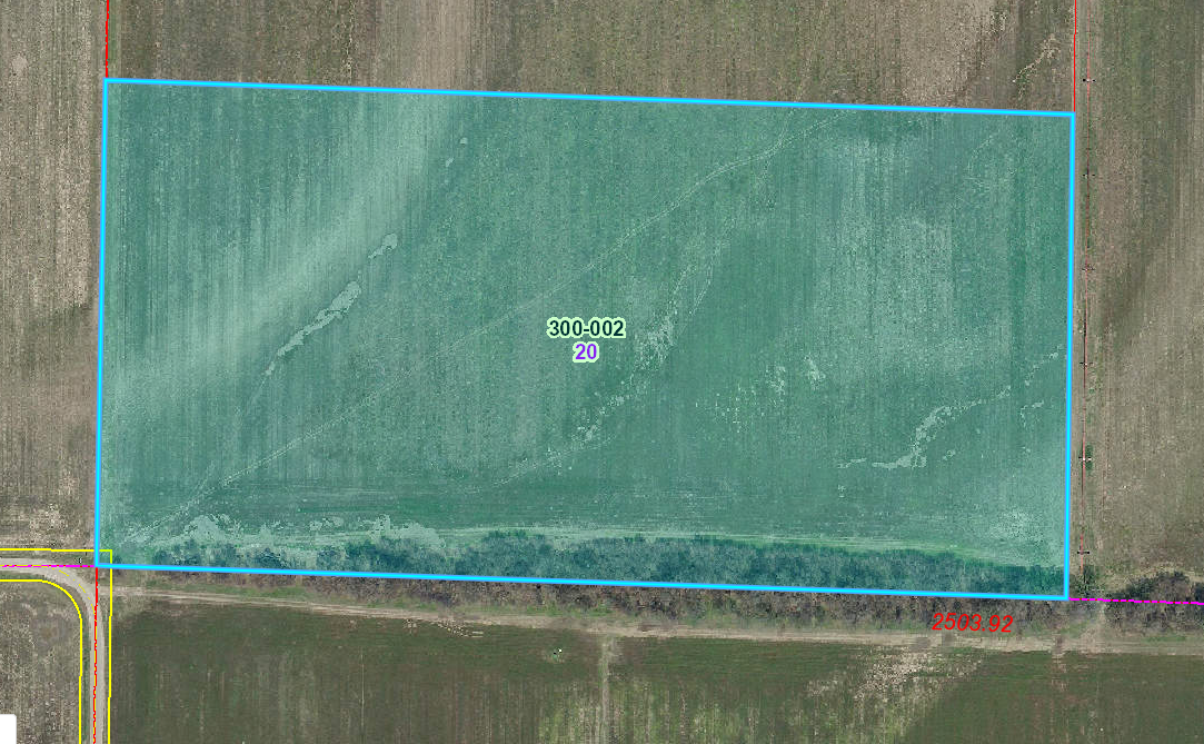 20 Acres Farm Ground For Sale at Auction