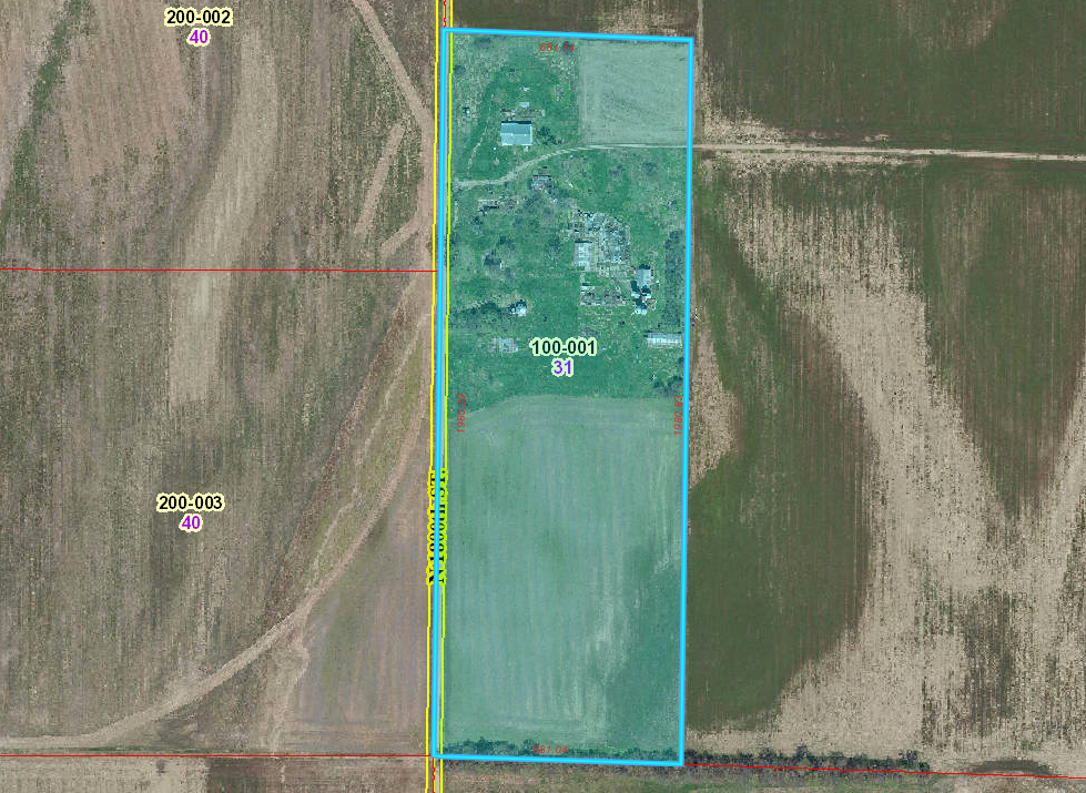 31 Acres Farm Ground For Sale at Auction